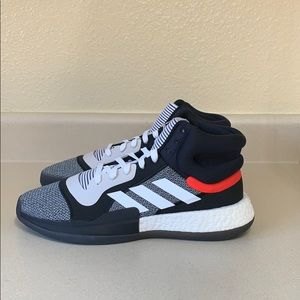 New Adidas Marquee Boost Mid Core Black